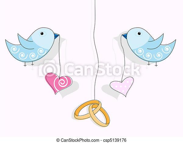 Wedding invitation - csp5139176