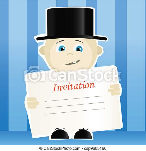 Wedding invitation. - csp9685166