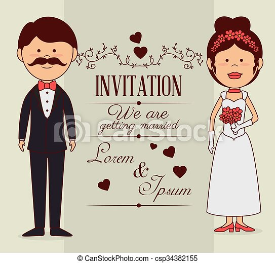 Wedding invitation design wedding invitation design vector wedding invitation design csp34382155 stopboris Images