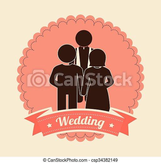 Wedding invitation design wedding invitation design eps vector wedding invitation design csp34382149 stopboris Choice Image