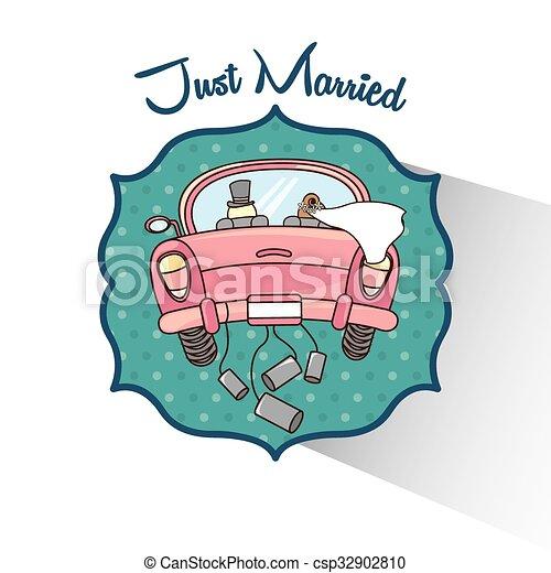 wedding invitation design  - csp32902810