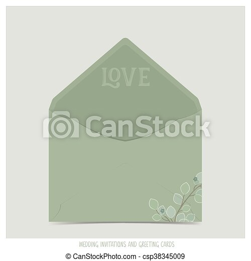 Wedding invitation envelope vector clipart search illustration wedding invitation envelope vector stopboris Choice Image