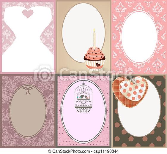 Wedding invitation - csp11190844