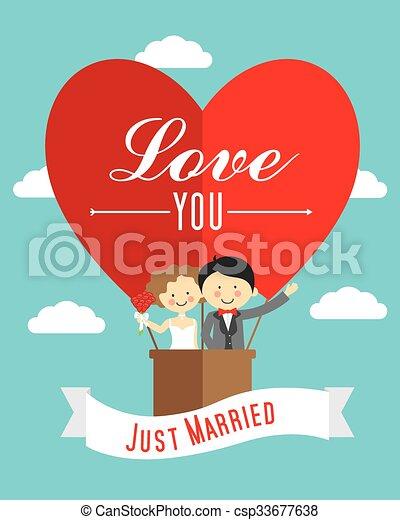 wedding invitation - csp33677638