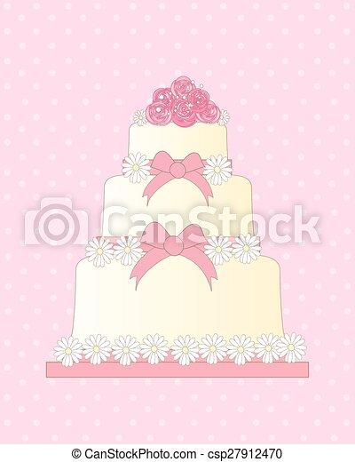 wedding invitation - csp27912470
