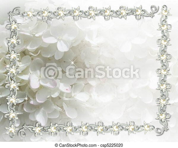 Wedding invitation jeweled - csp5225020