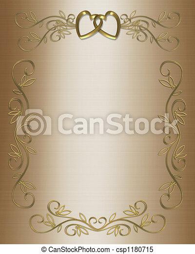 Wedding invitation  - csp1180715