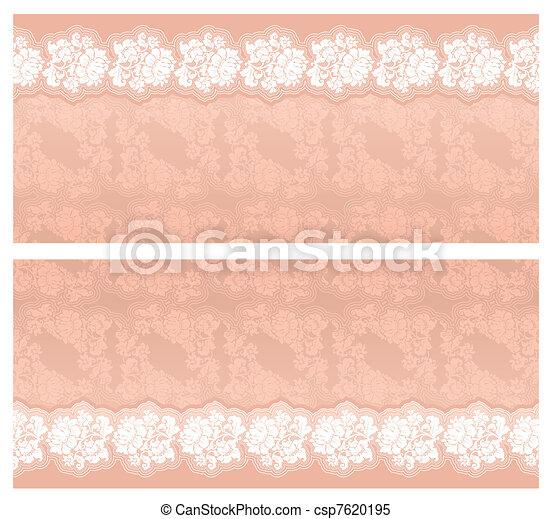 Wedding invitation template - csp7620195