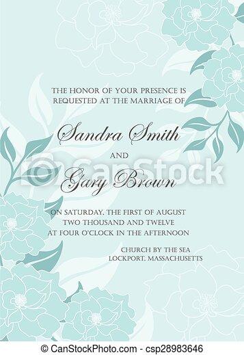 Wedding invitation template vector illustration eps vector search wedding invitation template csp28983646 stopboris Images