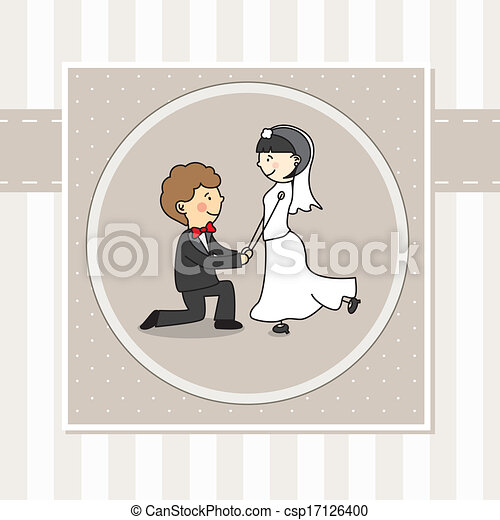 Wedding Invitation  - csp17126400