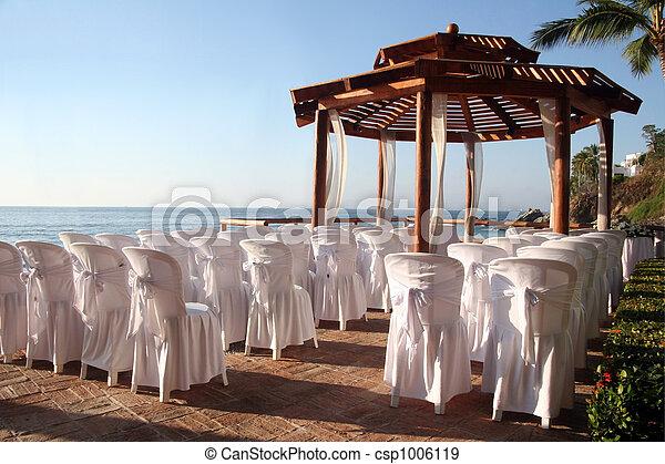 Wedding on the beach - csp1006119