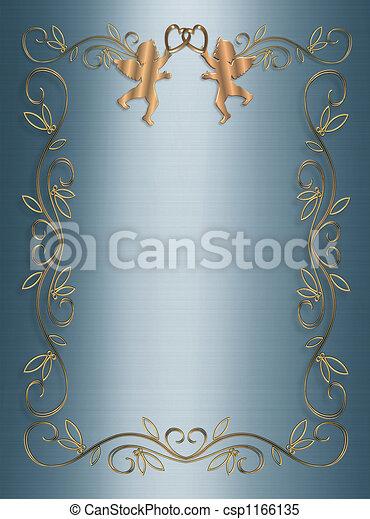 Wedding, Party Invitation - csp1166135