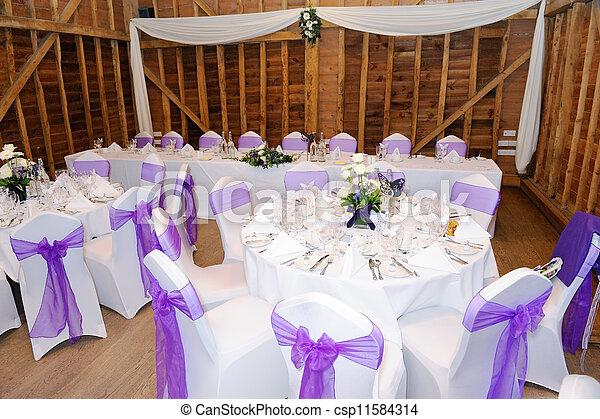 Wedding reception - csp11584314