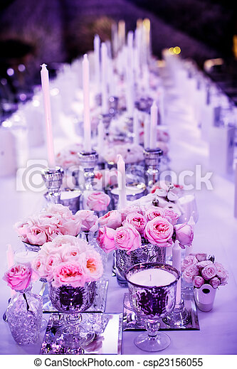 Wedding reception - csp23156055
