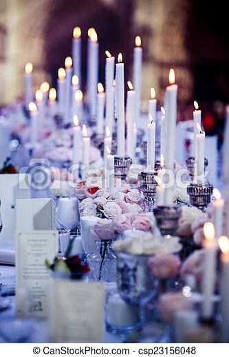 Wedding reception - csp23156048