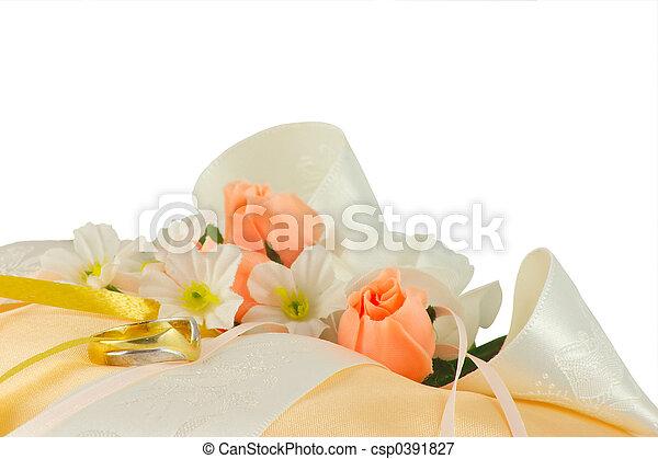 wedding ring cushion - csp0391827