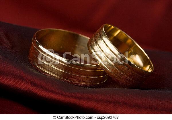 wedding ring - csp2692787
