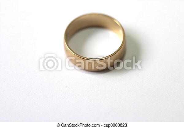 Wedding ring - csp0000823