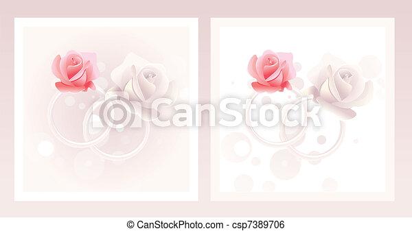 Wedding rings - csp7389706