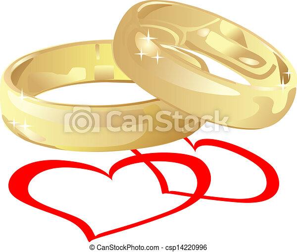 wedding rings - csp14220996