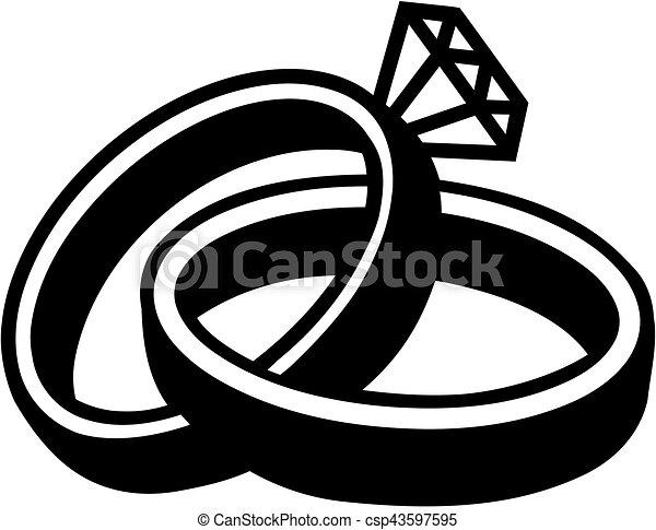 Wedding Rings Eps Vectors