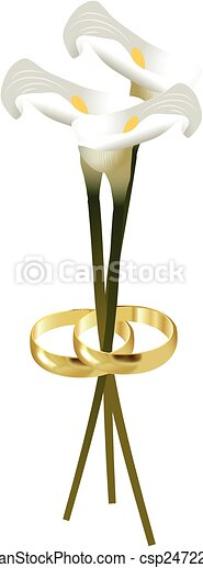 WEDDING RINGS - csp24722377