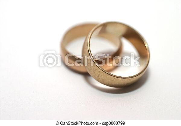 Wedding rings - csp0000799