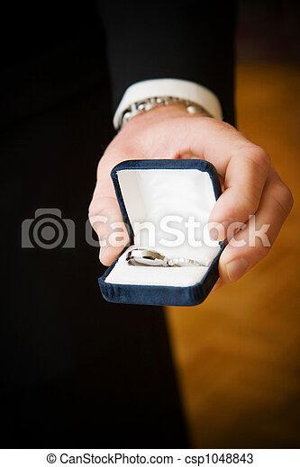 wedding rings - csp1048843
