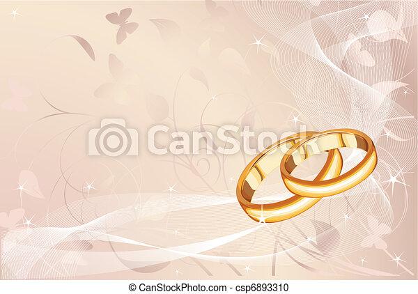 Wedding rings   - csp6893310