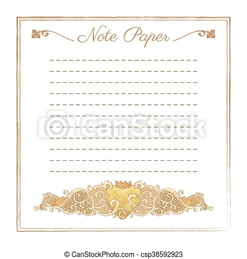 Vintage vector wedding stationery background with medieval ornament wedding stationery background csp38592923 stopboris