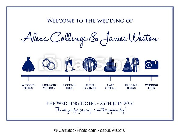 Wedding Timeline Background Vector Clip Art  Search Illustration