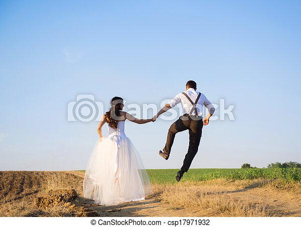 Wedding walk - csp17971932