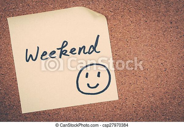 weekend - csp27970384
