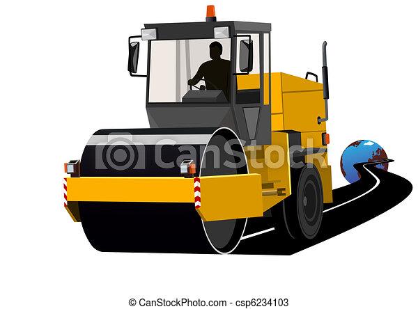 wegen, bouwsector - csp6234103