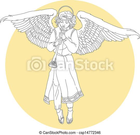 Weißer Engel