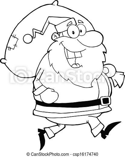 Ungewöhnlich Santa Claus Hut Färbung Seite Bilder - Beispiel ...