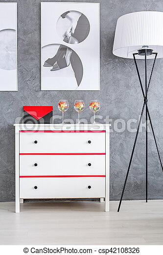 zimmer grau. Black Bedroom Furniture Sets. Home Design Ideas
