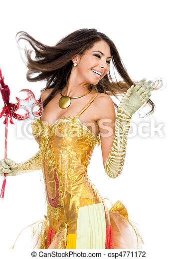 weibliche , tanzen - csp4771172