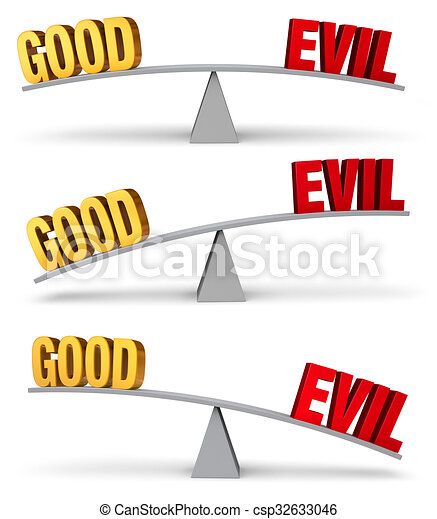 Weighing Good And Evil Set - csp32633046