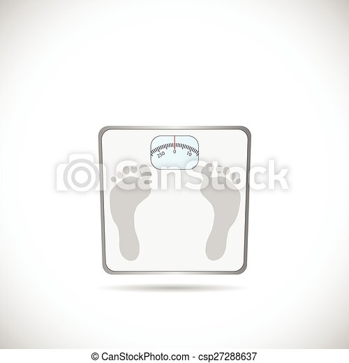 weighing scale illustration illustration of a weighing scale