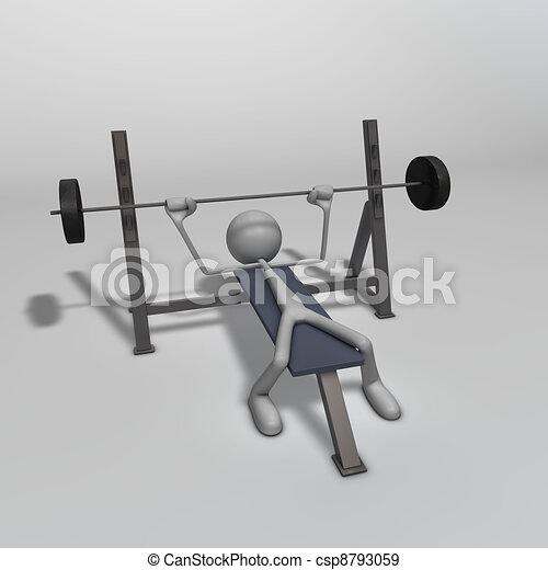 Weight Bench - csp8793059