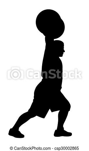 Weight lifter athlete - csp30002865