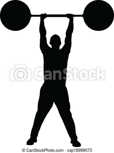 Weight Lifting Strength - csp18999073