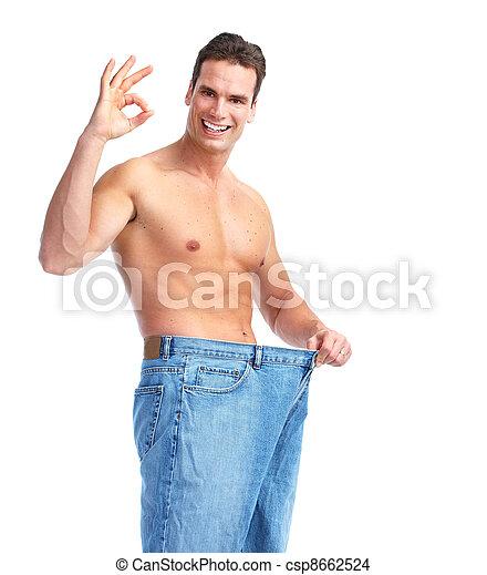 Weight loss. - csp8662524