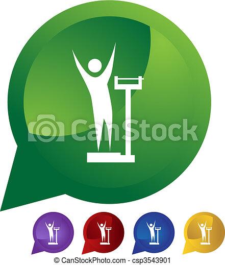 Weight Loss - csp3543901