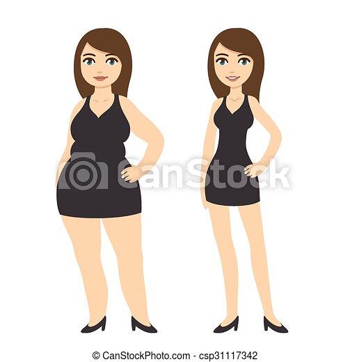 Weight loss women - csp31117342