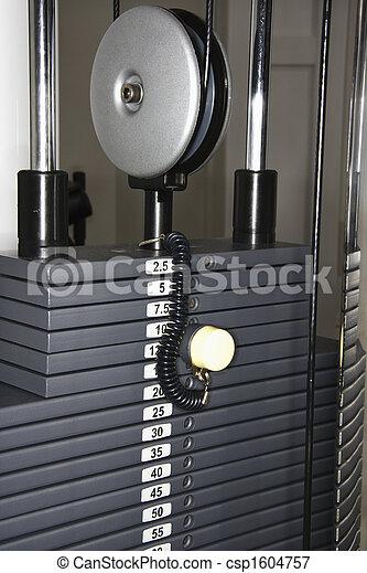 Weight Rack Machine Cable Machine Fitness Equipment