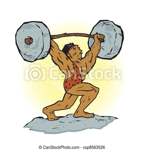 Weightlifting Beast - csp8563526