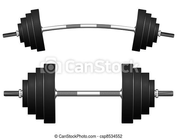weights against white - csp8534552