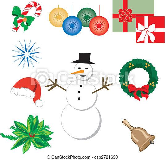 weihnachten, heiligenbilder - csp2721630